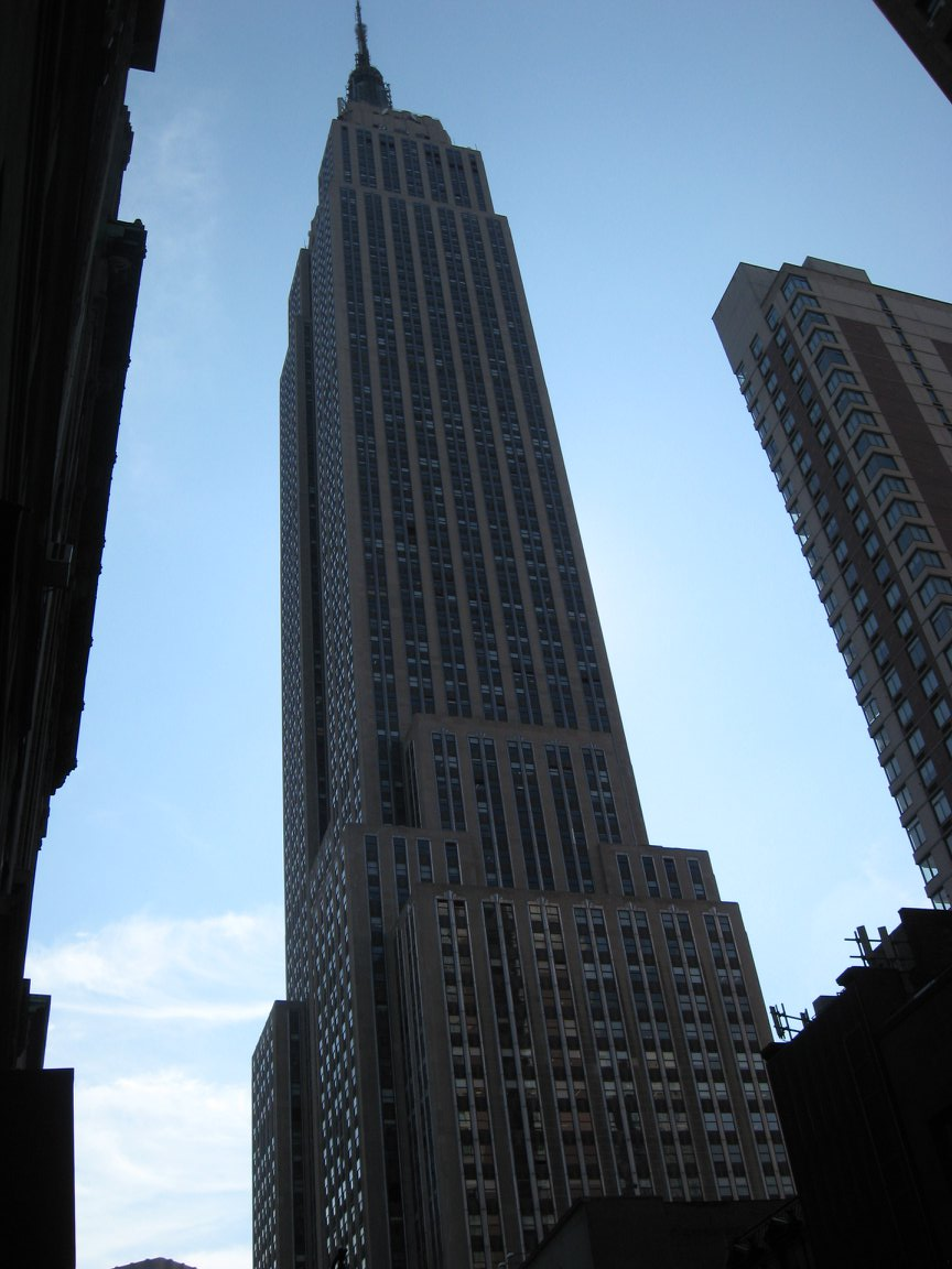 The Empire State Building in New York