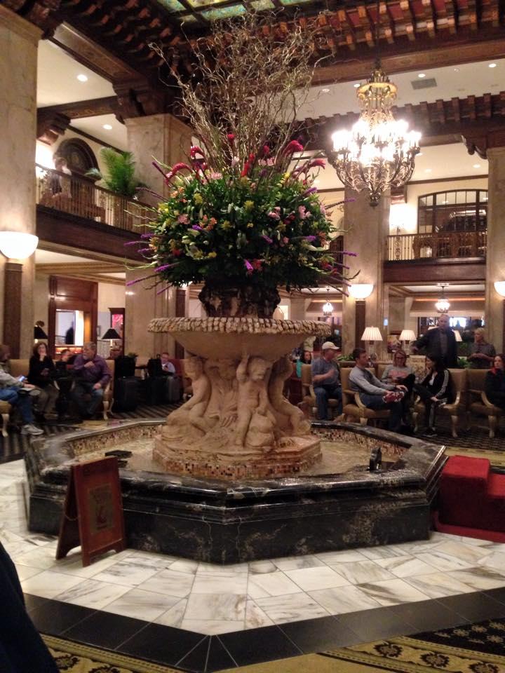 The Peabody Hotel foyer, Memphis
