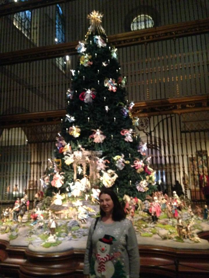 Christmas tree in the Met